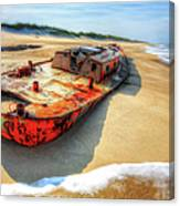 Blood And Guts II - Outer Banks Canvas Print