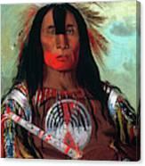 Blood Head Chief, 1832 Canvas Print