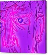 Blood Sweat Tears Fears  Canvas Print
