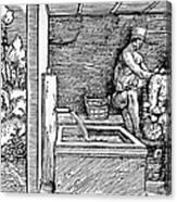 Bloodletting, C1500 Canvas Print