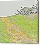 Bloody Lane Canvas Print