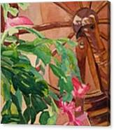 Bloomin' Cactus Canvas Print