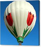Blooming Balloon Canvas Print