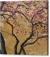 Blooming Prairie Fire Canvas Print