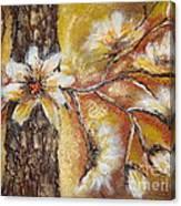 Blooming Tree Canvas Print