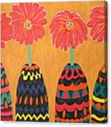 Blooms In Native Dress Canvas Print
