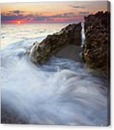 Blowing Rocks Sunrise Canvas Print