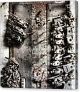 Blown Circuit Canvas Print