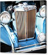 Blue 1953 Mg Canvas Print