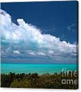 Blue 5 Of 5 Canvas Print