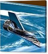 Blue 57 Chevy Bel Air Canvas Print