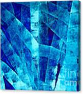 Blue Abstract Art - Paths - By Sharon Cummings Canvas Print
