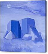 Blue Adobe Canvas Print