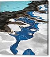 Blue And Green Baltic Sea - Abstract. Canvas Print