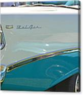 Blue And White Bel Air Convertable Canvas Print