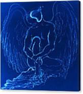 Blue Angel Canvas Print
