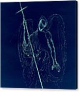 Blue Angel Series Canvas Print