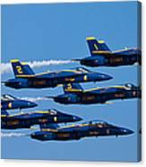 Blue Angels Canvas Print