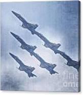 Blue Angels Fa 18 V18 Canvas Print