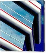 Blue Angled Canvas Print
