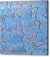 Blue Bark Canvas Print