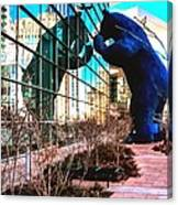 Blue Bear Convention Center 5214 Canvas Print