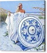 Blue Berry Beach  Canvas Print