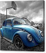 Blue Bug Canvas Print
