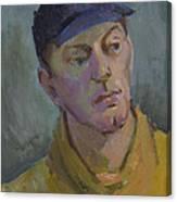 Blue Cap Canvas Print