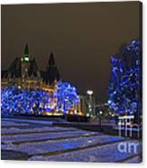 Blue Christmas.. Canvas Print
