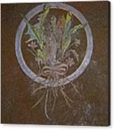Blue Circle Canvas Print