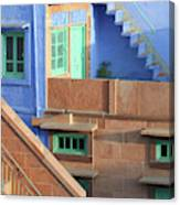 Blue City, Jodhpur, India Canvas Print