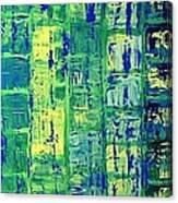 Blue City Canvas Print