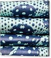 Blue Cloth Canvas Print