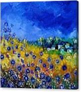 Blue Cornflowers 774180 Canvas Print