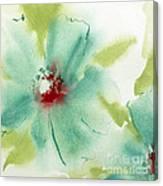 Blue Cosmos I Canvas Print