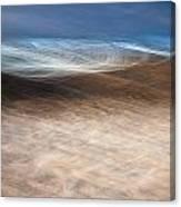 Blue Cove Three Canvas Print