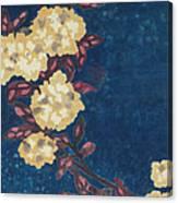 Blue Cream Canvas Print