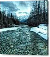 Blue Creek Canvas Print