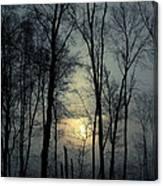 Blue Daybreak Canvas Print