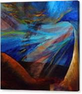 Blue Depth Canvas Print