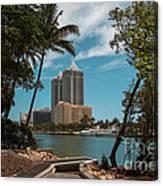 Blue Diamond Condos Miami Beach Canvas Print