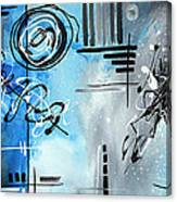 Blue Divinity By Madart Canvas Print