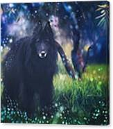 Belgian Sheepdog Art Canvas Print