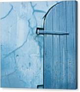 Blue Door In St. Thomas Virgin Islands Canvas Print