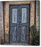 Blue Doors Canvas Print
