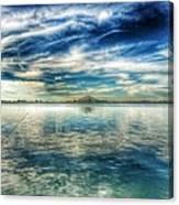 Blue Dream Fishing Canvas Print