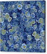 Blue Drip Canvas Print