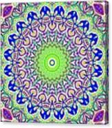 Blue Flares Canvas Print