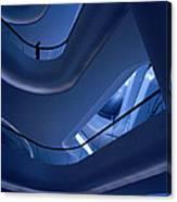 Blue Future Canvas Print
